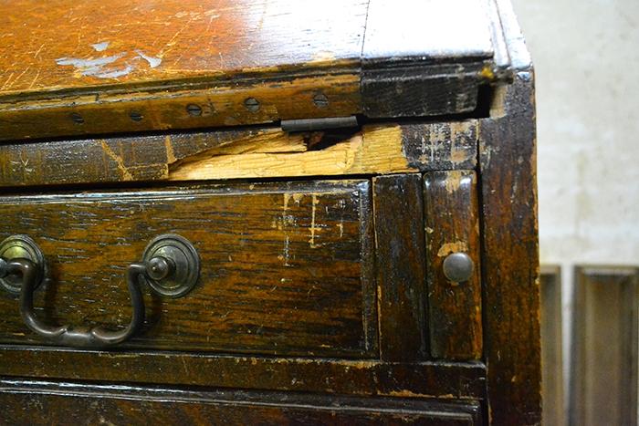 English-Georgian-oak-bureau-4